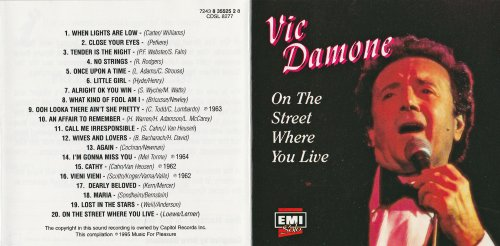 On the Street Where You Live by EMI Records