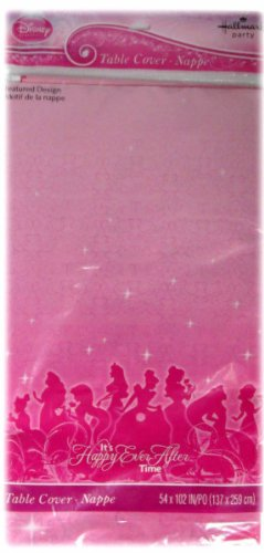 Disney Princess Order (Disney Princess 'Sparkle and Shine' Plastic Table Cover (1ct))