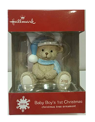 1st Collectible - Hallmark 2018 Baby Boy's 1st Christmas Ornament
