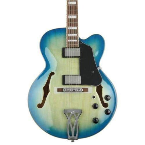 Used, Ibanez Artcore AF75 Hollowbody - Jet Blue Burst for sale  Delivered anywhere in USA