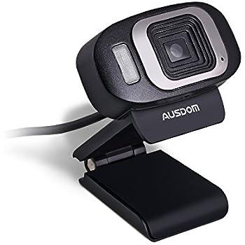 Amazon.com: Ausdom HD Webcam USB 1080P High Definition Web Camera ...