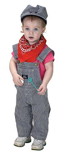 [Aeromax Train Engineer Suit, 18 Months] (Toddler Conductor Outfit)