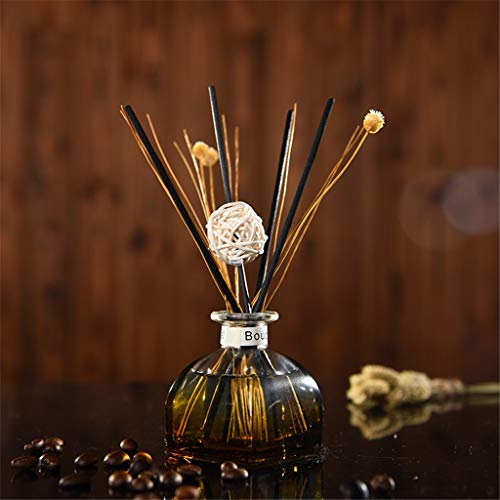 Yu2d  Reed Oil Diffusers with Natural Sticks, Glass Bottle and Scented Oil 35ML(Multicolor J)]()