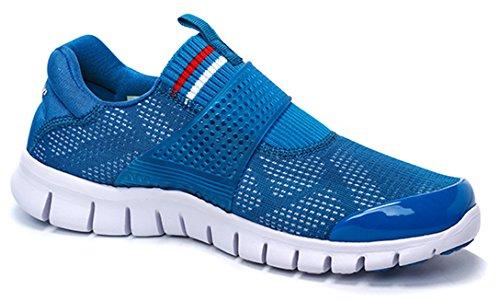 Onemix Heren Slip-on Schoenen Meer Blauw Wit