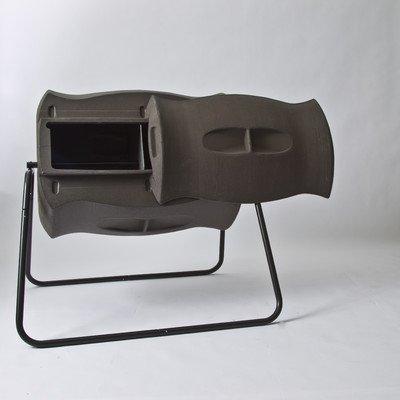 Algreen (82312) Terra Tumbling Composter 50-Gallon, Brownstone