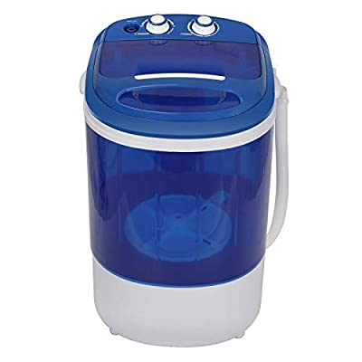 HomGarden Portable Washing Machine for Compact Laundry, Electric Compact Washer