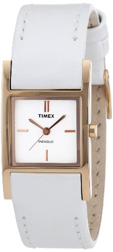 Timex Women's Quartz Watch Elevated Classics T2N306 with Leather Strap