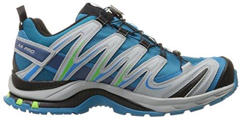 Salomon Dames Xa Pro 3d Cs Waterdicht Loopschoen W Trail Mistblauw / Licht Onix / Iglo Blauw