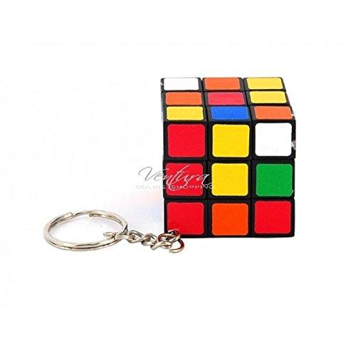 Brand New Mini Keychain 3*3 Rubik Cube Puzzle Magic Game Toy Gift