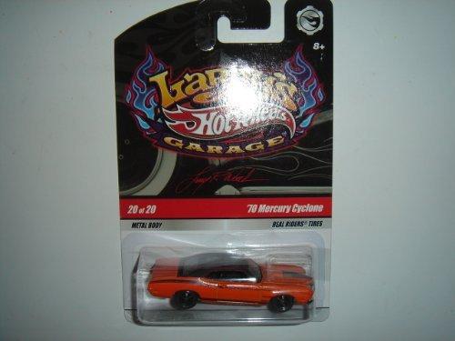 2009 Hot Wheels CHASE Larry's Garage '70 Mercury Cyclone Orange #20 of 20 Signed LRW On Base - City Cast Signed