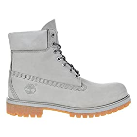 Timberland 6 Inch Premium Waterproof Mens Boots Light Grey tb0a1gau