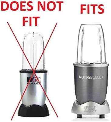 1 x Poignée Lip Ring for NUTRIBULLET 600//900w 1 x Replacement 32 oz Cup