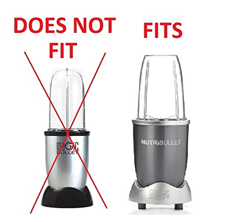 Blendin 2 Pack 24 Ounce Tall Cup with Lip Rings, Fits Nutribullet 600W 900W Blenders - smallkitchenideas.us