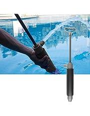 Suszian Kajak länspump, kajak manuell vattenpump fläns handvattenpump dräneringspump kajak tillbehör för kajakräddning