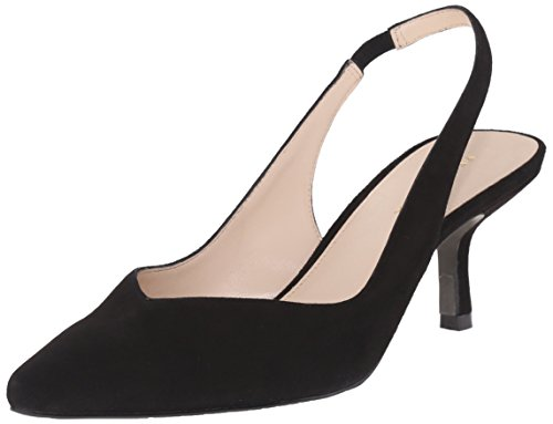 Moda Suede Pumps (Pelle Moda Women's Oasis-Sd Dress Pump, Black, 7 M US)