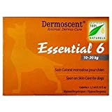 Dermoscent Essential 6 Spot-On Skin Care for Medium Dogs 22-45 lbs, 4 Tubes (10-20kg)