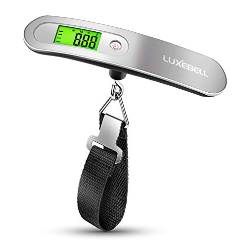 (Digital Luggage Scale Gift for Traveler Suitcase Handheld Weight Scale 110lbs)