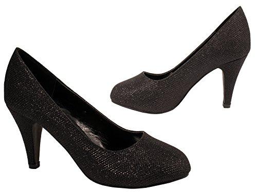 Chaussures Femme Elara Femme Chaussures Elara Noir Compensées Compensées Z4Ozqnq