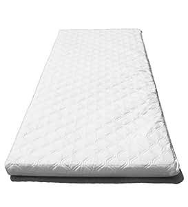 SUZY microfibra hipoalergénico colchón de la cuna 89 x 38 x 4 cm de espesor (Plaza Esquinas): Reversible