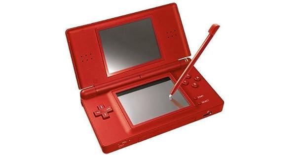 Nintendo DS Lite - juegos de PC (LCD) Rojo: Amazon.es: Videojuegos