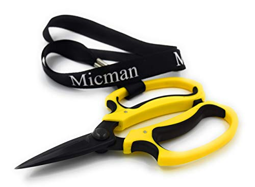 Micman Professional Grade Floral Scissors. High...