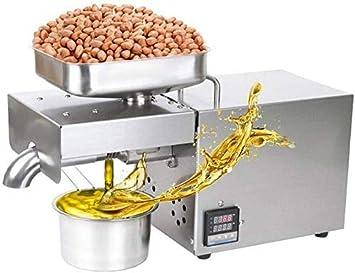 Wxnnx Semillas Las Semillas de Lino Cocina Nut Oil Extractor expulsor automático de la máquina de Las Semillas de Lino maní cáñamo Perilla Calabaza Girasol Canola sésamo Grado Comercial