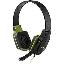 """""""Headset Gamer Multilaser PH146 Com Cancelamento de Ruído, Controle de Volume, Haste Ajustável, Microfone Retrátil, Verde"""""""