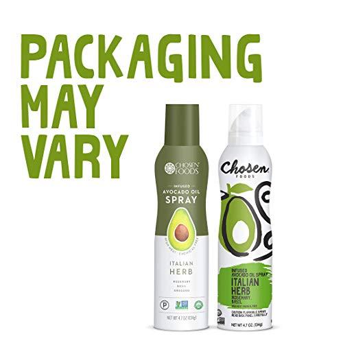 Chosen Foods Italian Herb Avocado Oil Spray 4.7 oz., Non