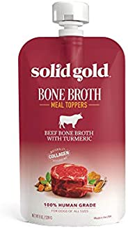 Solid Gold - Bone Broth - Human-Grade Bone Broth For Dogs - Natural Collagen - Holistic - Grain-Free - Meal to