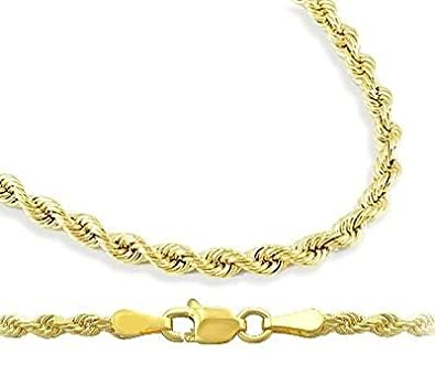twisted necklace chains or anklet chain bracelet only rope gold heavenlytreasuresjewelry