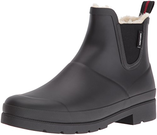 Wnt Rain Boot, Black/Black, 11 M US (Tretorn Rubber Boots)