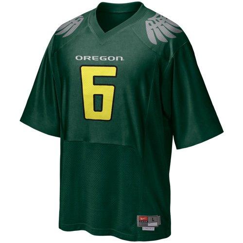- Nike Oregon Ducks #6 Replica Football Jersey - Green (XX-Large)