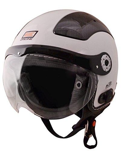 - Origine O528B Pilota 3/4 Helmet with Blinc Bluetooth (White, X-Large)