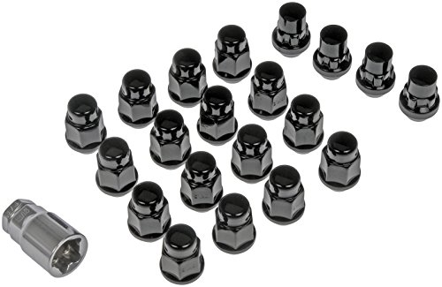 Dorman 711-346 Pack of 16 Wheel Nuts with 4 Lock Nuts and Ke