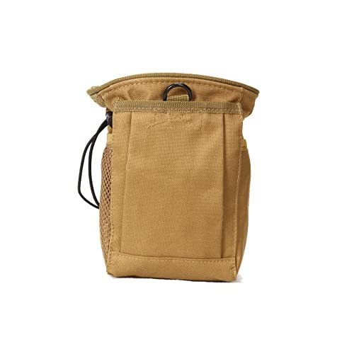Tactique Dump Drop taille sac Molle Magazine Camera Pouch Airsoft militaire Tan