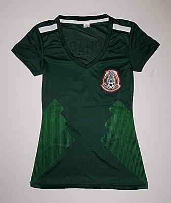 2018 Green Women's Federacion de Mexico Replica Jersey (Medium)