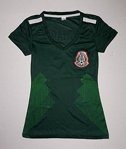 2018 Green Women's Federacion de Mexico Replica Jersey - Mexico Women Jersey