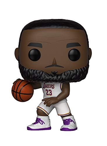 Funko POP! NBA: Lakers - Lebron James (White Uniform)]()