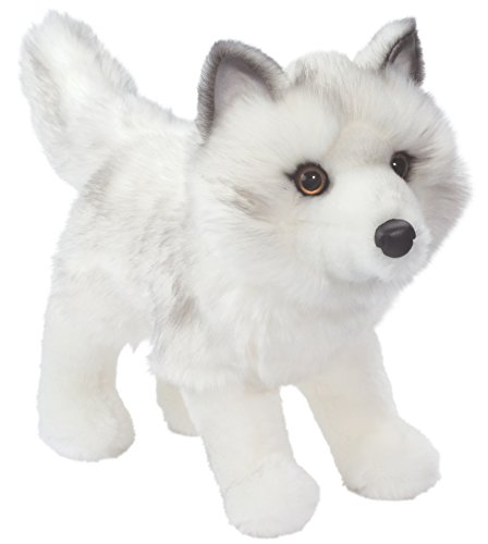 Douglas Cuddle Toys SNOW QUEEN Arctic Fox (White Arctic Fox)