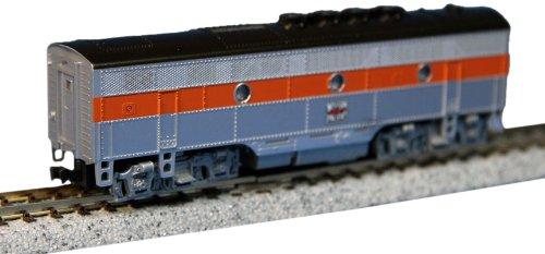 (KATO 176-1208 EMD F3B WP Diesel Locomotive (Western Pacific) (N Scale))
