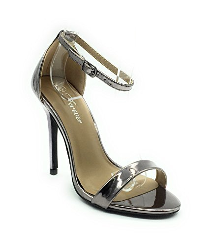 Forever 86 Link Dress Sandals Pewter Passion Lady PCpwqC