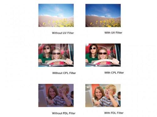 49mm UV//FLD//CPL Vivitar 3-Piece Multi-Coated Glass Filter Kit