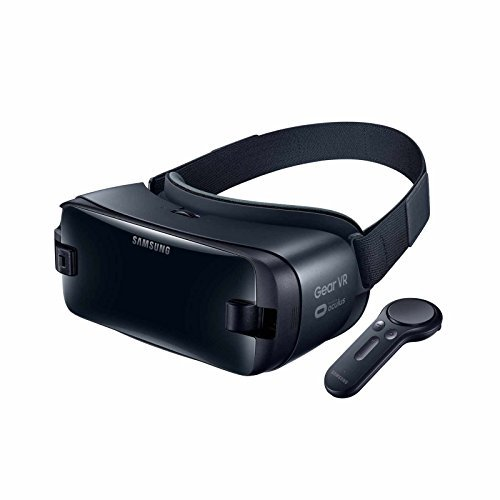 Samsung Gear VR (2017 Edition) with Controller Virtual Reality Headset SM-R325 for Galaxy S8, S8+, S7, S7 edge, Note5, Note 8, S6 edge+, S6, S6 edge (International Version, No Warranty)