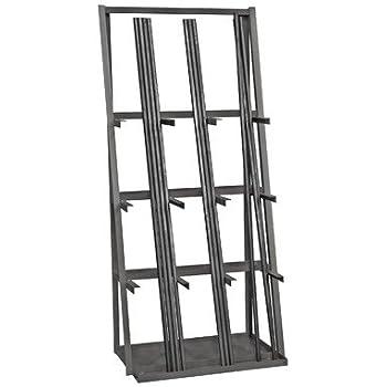 Lumber storage rack portamate pbr 001 six for Vertical lumber storage rack