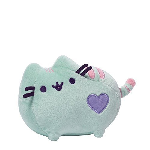 Gund Pusheen Pastel Plush, Green, 6/4.25 by GUND