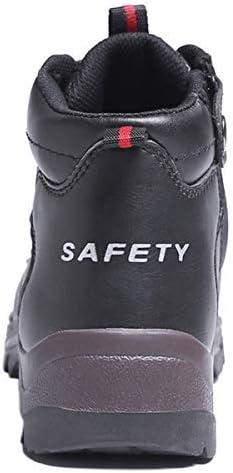 SUADEEX Sicherheitsschuhe Herren Damen Warm Gef/ütterte Winterschuhe rutschfest Atmungsaktiv Arbeitsschuhe Leicht Sportlich Sneaker Schutzschuhe