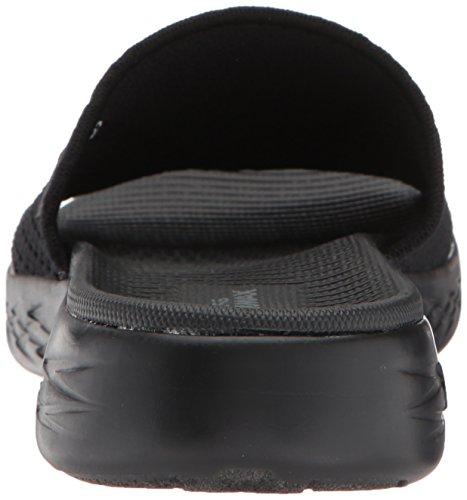 Sandalo Da Slitta 600-nitto Da Donna Di Skechers Nero