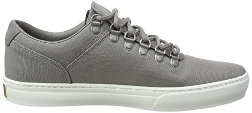 Fabric Timberland Canvas Grigio Scarpe 2 Adventure Grey 0 Cupsole Uomo steeple F49 Stringate Oxford nU7UqIHw