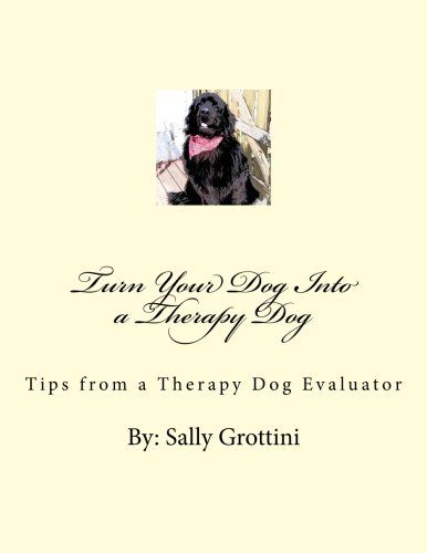 Turn Your Dog Into a Therapy Dog: Tips From a Therapy Dog Evaluator (Volume 1) (Dog Train Therapy)