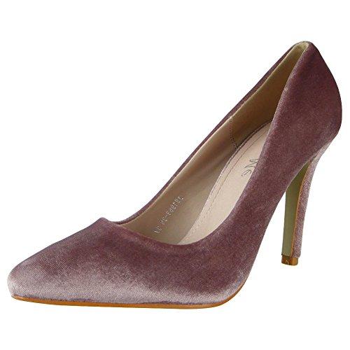 Loud Look - Zapatos de tacón mujer Rosa